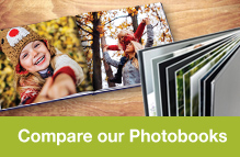 Compare our different PhotoBooks