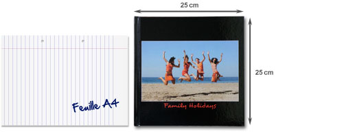 Livre Photo Trendy 25 x 25 cm
